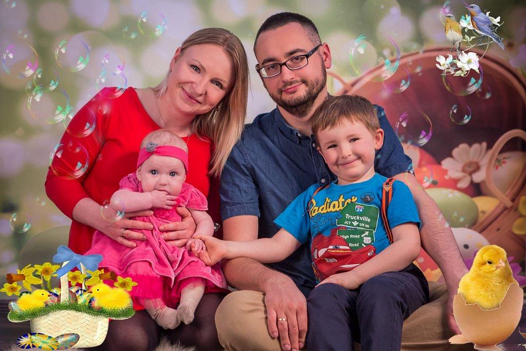 Fantastyczna czwórka - Sesja rodzinna