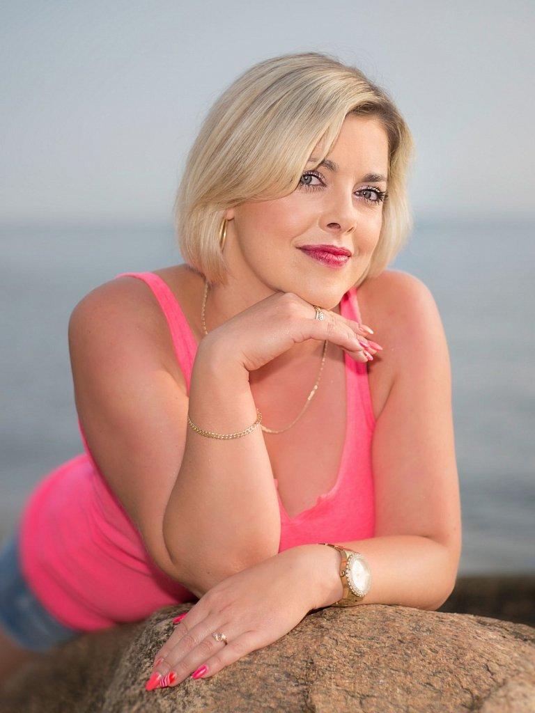 Sesja osobista Doroty na plazy