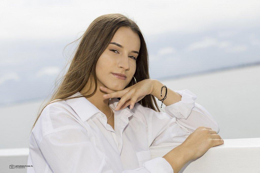 Oliwia w Gdyni Orłowie sesja osobista