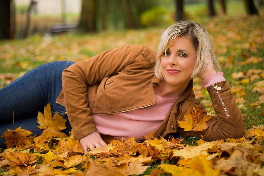Jesień jest piękna. Sesja z Dorotą